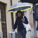 Shannen Doherty – Leaving her hotel in Rome - 454 x 681
