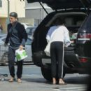 Lea Michele –  Shopping at Whole Foods in Los Angeles - 454 x 302