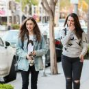 Lily Collins at Gratitude in Beverly Hills