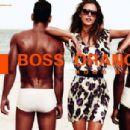 Alessandra Ambrosio Hugo Boss Orange Spring Summer 2012 - 454 x 304