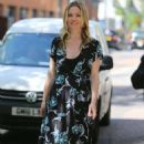 Julia Stiles – Leaves ITV Studios in London - 454 x 715