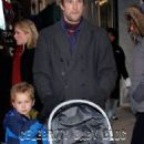 Noah Wyle and Tracy Warbin