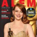 Emma Stone - Alem Magazine Cover [Turkey] (March 2017)