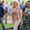 Holly Willoughby Arrives at This Morning Live in Birmingham - 454 x 708