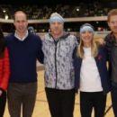 Prince William, Duchess Catherine and Harry visited London Marathon Day - 454 x 283
