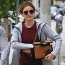 Lucy Hale – Heads to lunch in Los Angeles