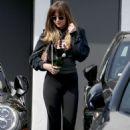 Dakota Johnson – Leaving MeCHE hair salon in Beverly Hills