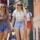 Sophie Turner – Spotted walking around with a friend in New York City