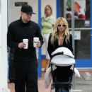 Nicole Richie & Joel Madden Taking Out Daughter Harlow In Glendale, CA 2008-05-09 - 454 x 617