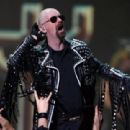 Musician Rob Halford of Judas Priest performs during the VH1 Rock Honors at the Mandalay Bay Events Center on May 25, 2006 in Las Vegas, Nevada