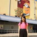 "Miranda Cosgrove posing during the Grand Opening of ""Despicable Me"" Minion Mayhem at Universal Orlando, FL (July 2)"