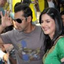 Zarine Khan and Salman Khan