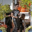 Joe Jonas shops at Fred Segal Store With A Friend