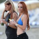 Maci Bookout out in Miami Beach