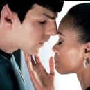 Zachary Quinto and Zoe Saldana
