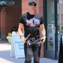 Musician Dee Snider spotted out shopping in Beverly Hills, California on June 27, 2016 - 394 x 600