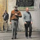 Armie Hammer-September 20, 2013-On Set - 397 x 400
