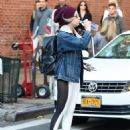 Ashley Benson in Tights – New York City 11/5/ 2016