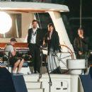 Dakota Johnson & Jamie Dornan filming a scene for Fifty Shades Darker (April 28, 2016)