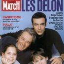 Alain Delon - Paris Match Magazine Cover [France] (January 2003)
