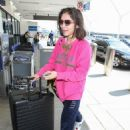 Rowan Blanchard at Los Angeles International Airport in LA