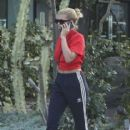 Sofia Richie spotted out in West Hollywood, California on April 4, 2017