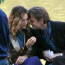 Sarah Jessica Parker and Mikhail Baryshnikov on Location for 'Sex and the City' - October 16, 2003
