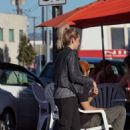 Ashley Tisdale Grabbing A Coffee In Studio City