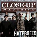 Hatebreed - Close-Up Magazine Cover [Sweden] (April 2016)