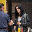 Krysten Ritter and Rachael Taylor – Filming 'Jessica Jones' set in Manhattan - 454 x 619