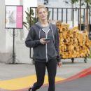 Ashley Greene in Leggings shopping in Beverly Hills