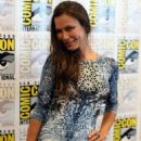 Rhona Mitra At The Last Ship 2014 Comic Con Press Line