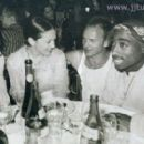 Tupac Shakur and Salli Richardson