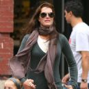 Brooke Shields Out & About In Soho, September 28 2009