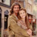 Joe Lando and Jane Seymour in Dr. Quinn, Medicine Woman (1993)