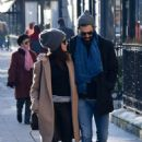 Abigail Spencer with her new boyfriend – Out in Paris - 454 x 703