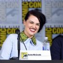 "Katie McGrath attends the ""Supergirl"" special video presentation during Comic-Con International 2017 at San Diego Convention Center on July 22, 2017 in San Diego, California"