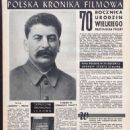 Joseph Stalin - Film Magazine Pictorial [Poland] (15 December 1949) - 454 x 645