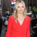 Jennifer Morrison Arriving At Good Morning America In Nyc