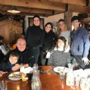 Marcelo de Carvalho with his son Lorenzo, wife Luciana Gimenez, his 3 children and her son Lucas Jagger - 454 x 454