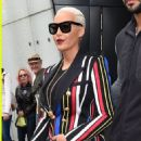 Amber Rose steps out of her hotel to make her way to the BBC studios in London, England - April 22, 2015