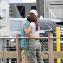 Emily Ratajkowski with husband – Seen after lunch in Sag Harbor New York