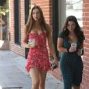 Alexis Ren – Seen with a friend at Alfred's Coffee on Melrose Place in West Hollywood - 454 x 681