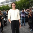 Shailene Woodley: at the Giorgio Armani Prive Haute-Couture show at Palais de Chaillot in Paris