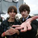 James Righton and Alexa Chung
