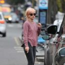 Lily Allen Street Style Out In Notting Hill