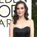 Winona Ryder at The 74th Golden Globes Awards - arrivals - 454 x 256