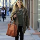 Whitney Port is spotted out running errands in Beverly Hills, California on January 7, 2016