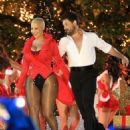 Amber Rose and Maksim Chmerkovskiy Return to Dancing With The Stars at the Grove in Hollywood, California  - November 22, 2016 - 454 x 563