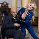 Pamela Anderson as the Invisible Girl in Superhero Movie - 454 x 681